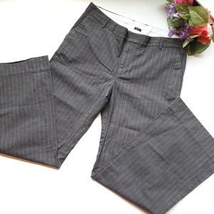 {Gap} stretch pinstripe pants